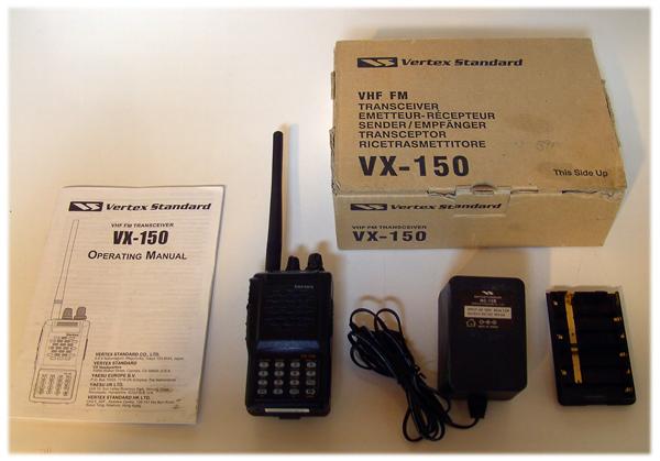 vertex standard vx 451 owners manual